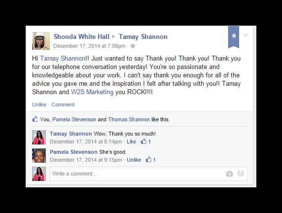 Shonda Hall Testimonial