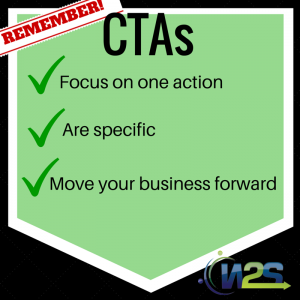 Make sure your CTA follows this!